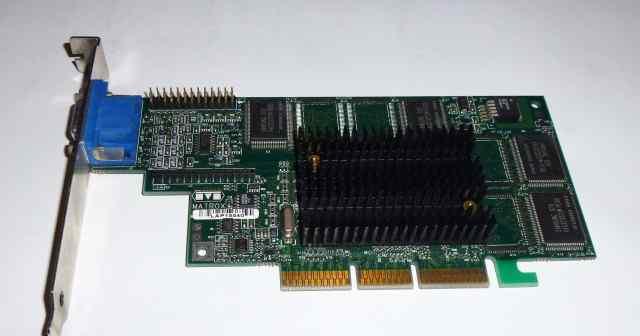 Видеокарта Matrox G4+ 16 Mb AGP VGA