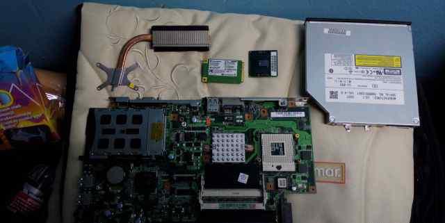 Плата Процессор DVD-RW Wi-Fi asus X51