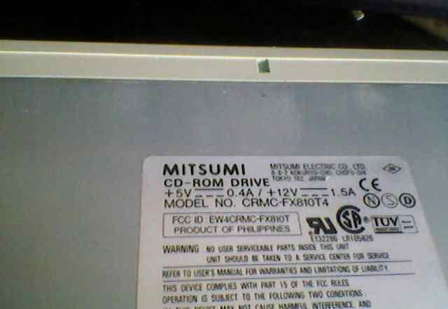 CD-ROM drive mitsumi (IDE)