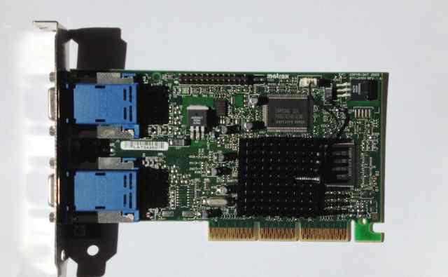 Видеокарта AGP Matrox G45+ mdha 16D