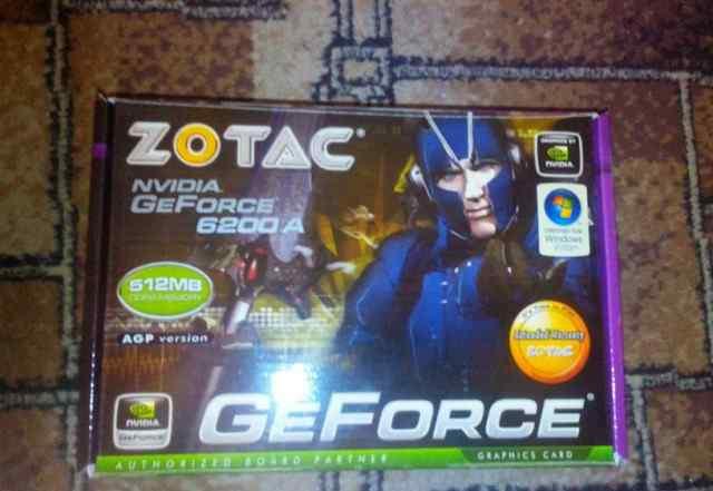 Новая мощная видеокарта Zotac GeForce 6200 512Mb 6