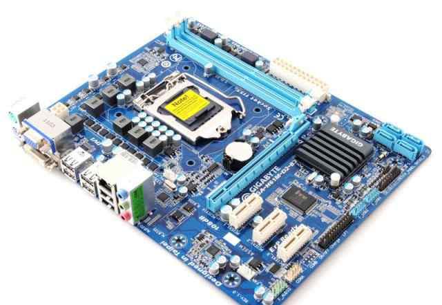 Материнская плата gigabyte GA-H61M-D2-B3 Socket 11