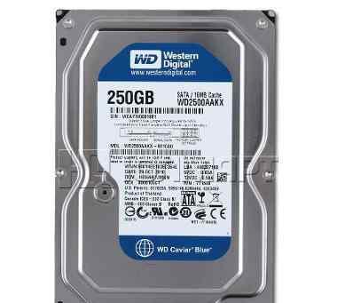 Новый HDD 250гб, Western Digital Caviar Blue