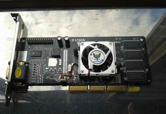 GeForce MX400 64mb