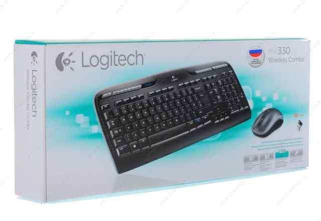 Logitech Wireless Combo MK330 Black USB 920-003995