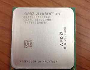 Процессор AMD Athlon 64 3000+, Socket 754