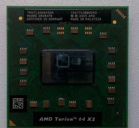 AMD Turion 64 X2 TL-58 1900 Mhz