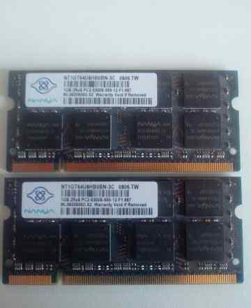 Память DDR2 - 1Gb