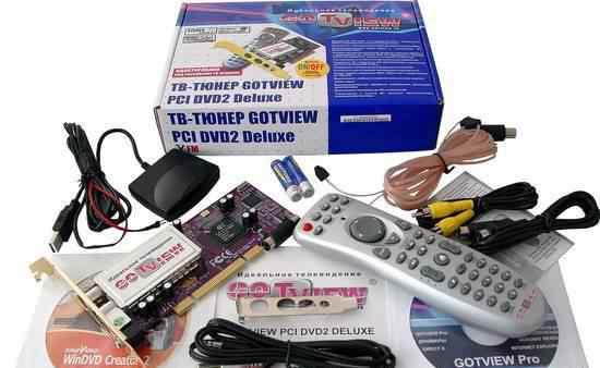 Тв тюнер Gotview PCI DVD2 Deluxe