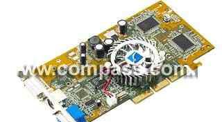 Видеокарта nVidia GeForce4 MX400.64mb, AGP