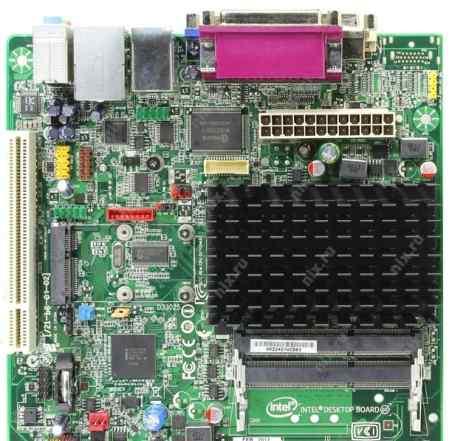 Intel D2700MUD + PCI SATA контролер