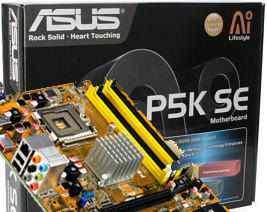 Asus P5K SE Socket 775, DDR2