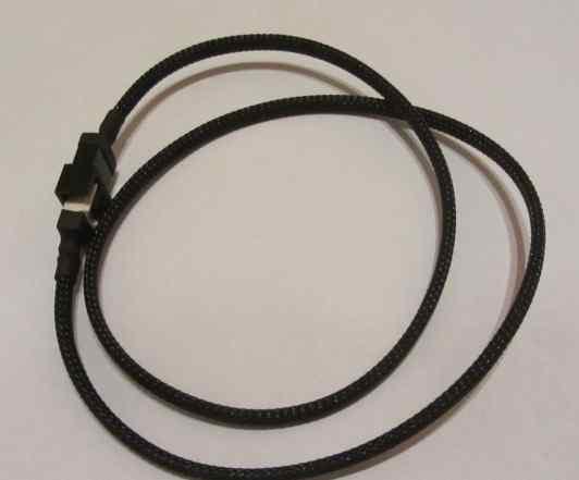 Удлинитель для вентилятора в оплётке