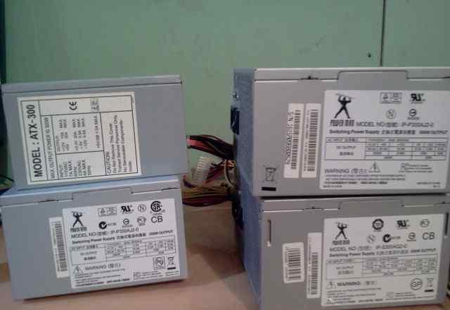 Блок питания ATX 300W 24+ 4pin