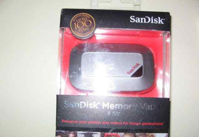 SanDisk Memory Vault 8 Gb Новая