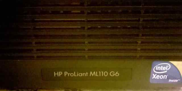 сервер HP Proliant ML110G6