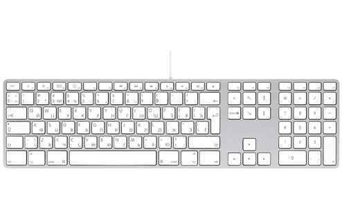 Клавиатура проводная apple