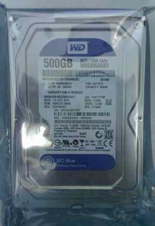 Жесткий диск WD Caviar Blue 500Gb новый