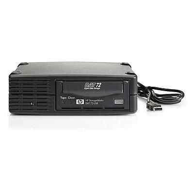 HP DAT 72 USB DW027A стример внешний
