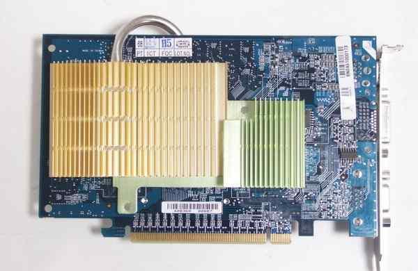Gigabyte GV-NX66256DP nvidia GeForce 6600 256Mb