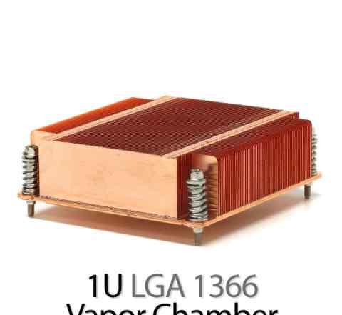 Радиатор медный LGA1366, dynat307