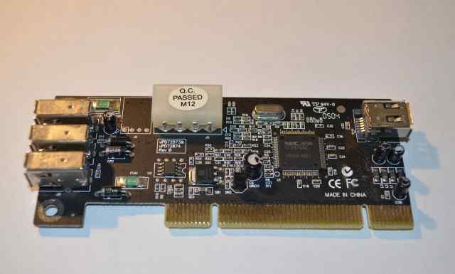 Контроллер FireWare PCI ieee1394