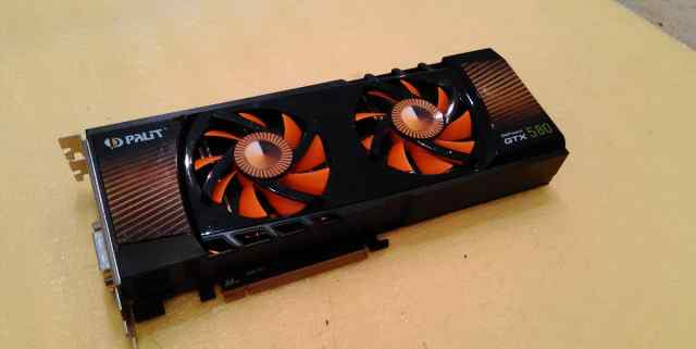Видеокарта Palit Geforce GTX 580 1.5gb DDR5