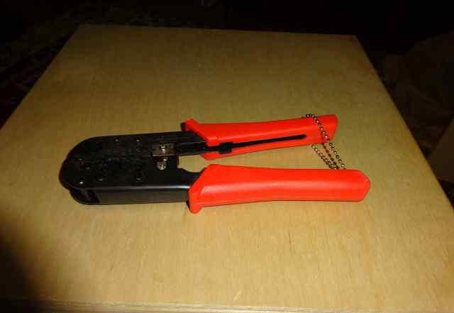 Инструмент для обжима RJ-45 RJ-12 Кримпер