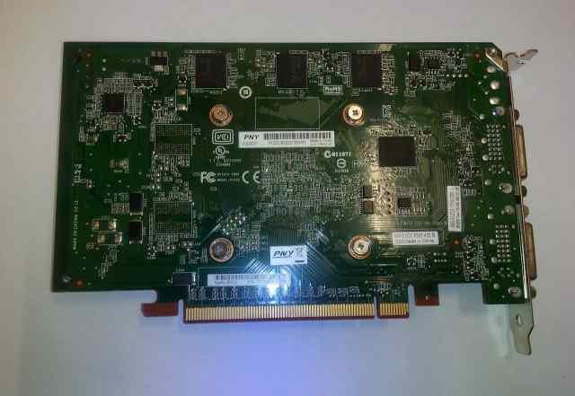 PNY Quadro 2000D 625Mhz PCI-E 2.0 1024Mb 2600Mhz