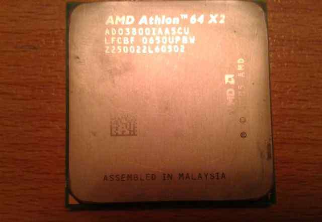 Процессор AMD Athlon 64 X2 3800