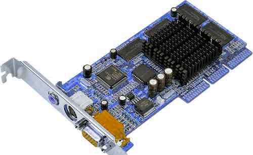 Видеокарта nVidia GeForce2 MX400.32mb, AGP