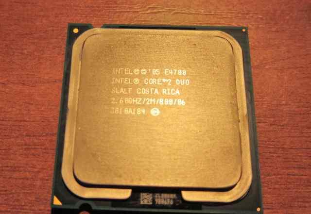 Процессор intel core2 DUO - E 4700