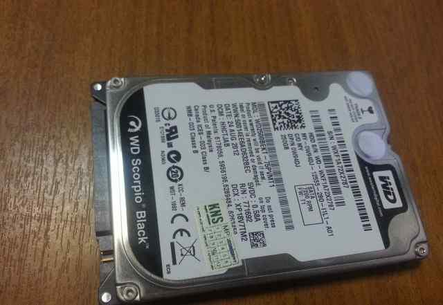 WD Scorpio Black 250GB 2.5