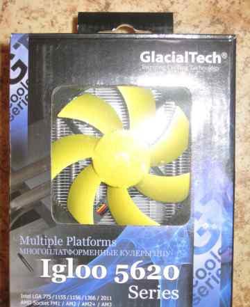 Кулер GlacialTech Igloo 5620 Silent