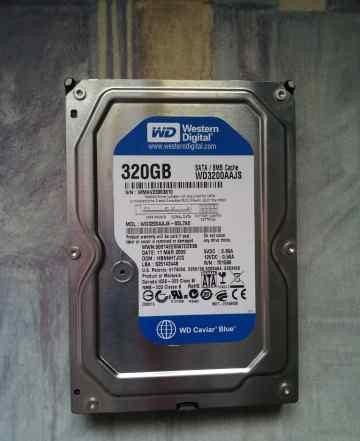 Жесткий диск 320 Gb Western Digital WD3200aajs