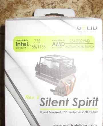 Кулер цпу gelid Silent Spirit Rev.2 CC-spirit-02-0