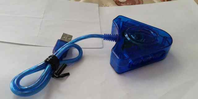 USB переходник для джойстика PlayStation для PC