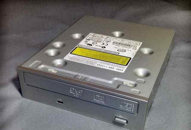 Dvdr привод. Pioneer DVR 112 DSV silver