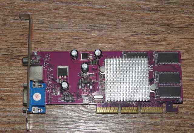 Видеокарта AGP Palit GeForce4 MX440 8x 64Mb DDR TV