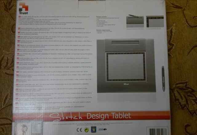 Планшет Trust для рисования Sketch Design Tablet