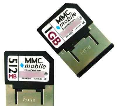 Карта памяти MMC16mb и RS-MMC MMC переходники