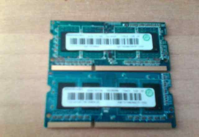 Оперативная память sodimm ddr 3 ramaxel 3 gb