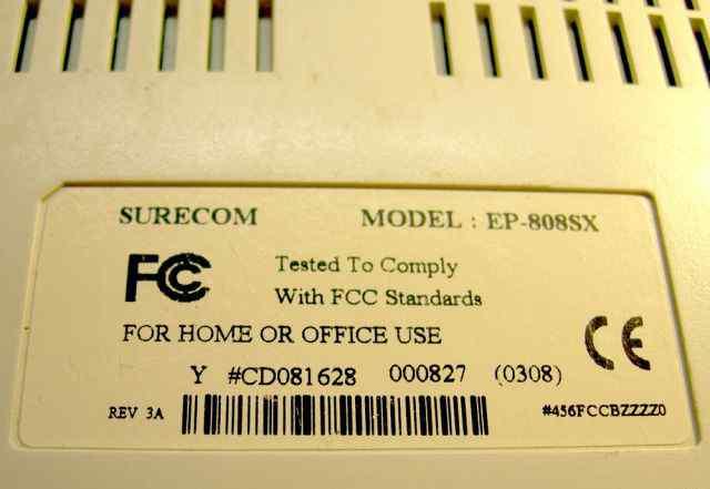 Коммутатор (свитч) Surecom EP-808SX