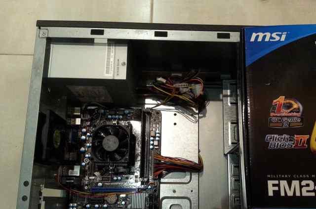 Проц BOX amd athlon x4 740
