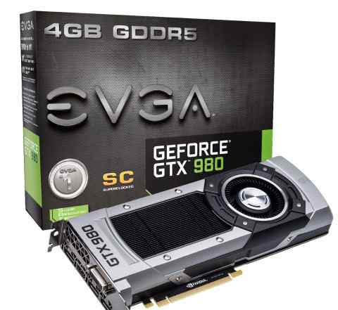 Видеокарта nvidia GeForce GTX 980 evga Superclocke
