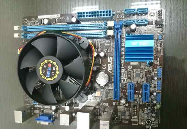 Asus P8H61 s1155 mATX + Intel Celeron G530