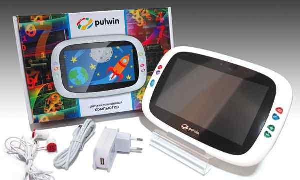 детский планшет Pulwin baby