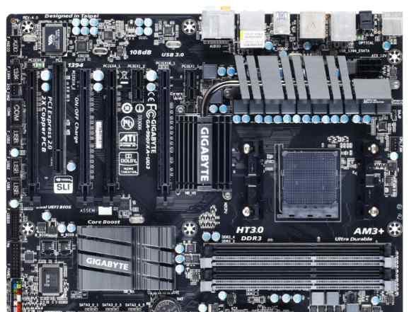 AMD Gigabyte GA-990FXA-UD3 AM3+, 990FX (rev 4)