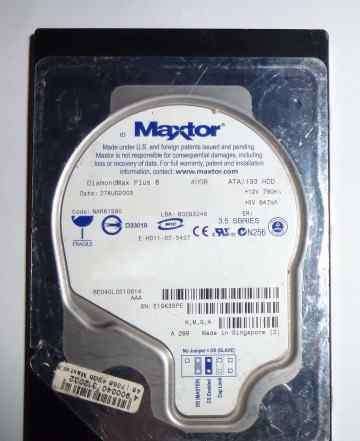 Maxtor 40 Gb DiamondMax Plus 8