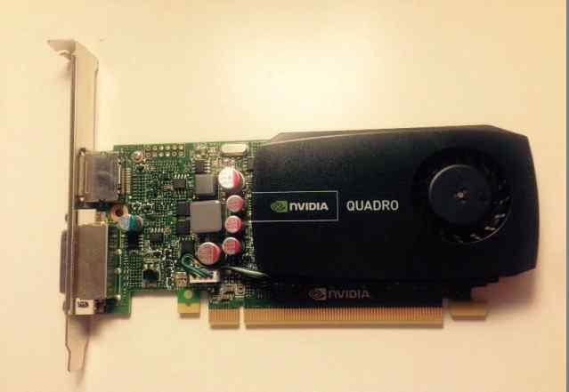Новая PNY Quadro 600 1 Gb